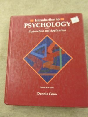 9780314922113: Introduction to Psychology: Exploration and Application