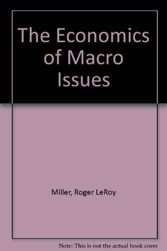 9780314922144: Economics of Macro Issues