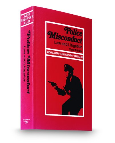 9780314922526: Police Misconduct: Law and Litigation, 3d, 2009-2010 ed.