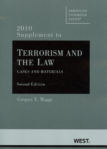 Terrorism and the Law (Paperback): Gregory E. Maggs,