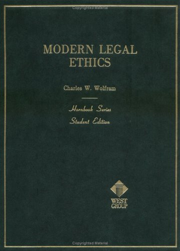 9780314926395: Modern Legal Ethics (Hornbook Series)