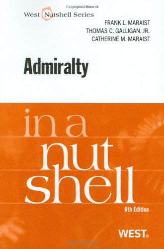 9780314926999: Admiralty in a Nutshell, 6th (In a Nutshell (West Publishing)) (Nutshells)