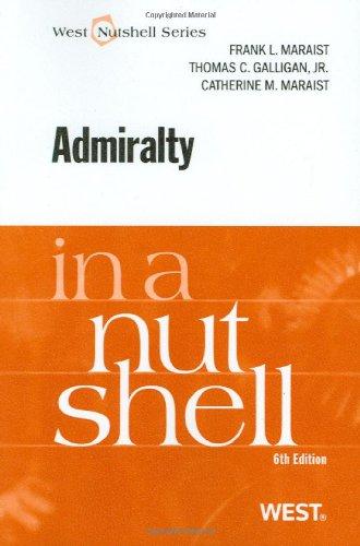 9780314926999: Admiralty in a Nutshell, 6th (In a Nutshell (West Publishing)) (Nutshells)