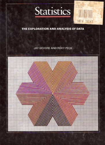 9780314931726: Statistics: The Exploration and Analysis of Data