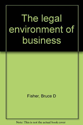 9780314931795: The legal environment of business