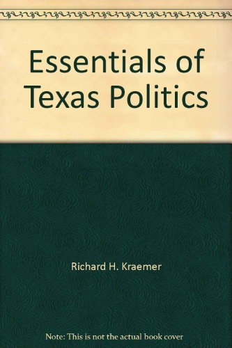 9780314931917: Essentials of Texas politics