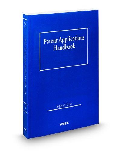 9780314932198: Patent Applications Handbook, 2010 ed.