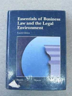9780314933775: Essentials of Business Law and the Legal Environment