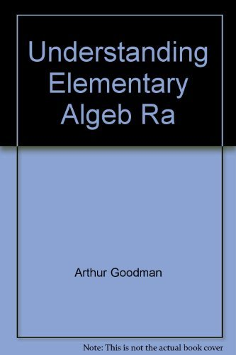 9780314935328: Understanding elementary algebra: A course for college students