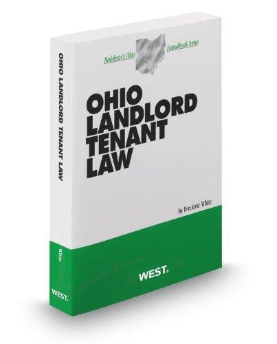 9780314936660: Ohio Landlord Tenant Law, 2012-2013 ed. (Baldwin's Ohio Handbook Series)