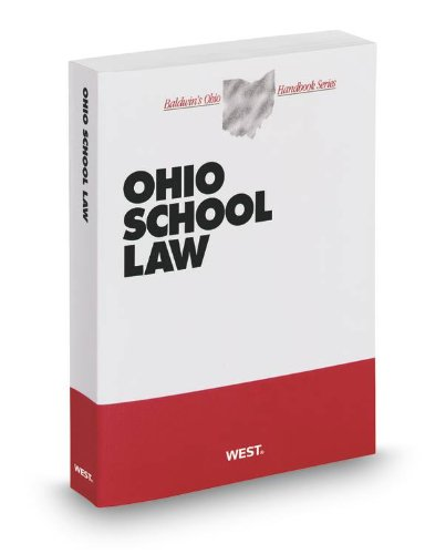 Ohio School Law, 2012-2013 ed. (Baldwin's Ohio Handbook Series) (0314936734) by Daniel Jaffe; Michael Sharb; Richard Manoloff; Susan Hastings; Timothy Sheeran