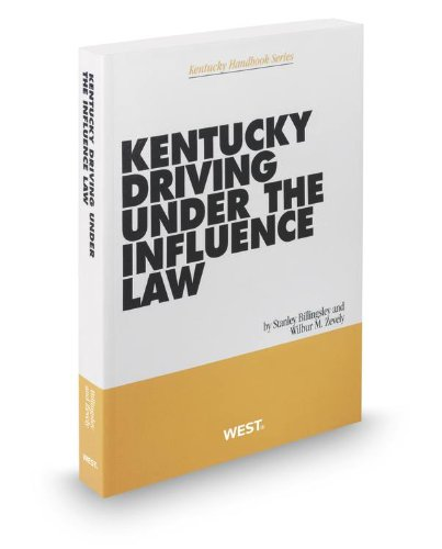 9780314937964: Kentucky Driving Under the Influence Law, 2012-2013 ed.