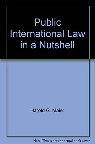 9780314938169: Public International Law in a Nutshell