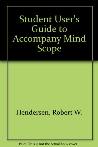 9780314942708: Student User's Guide to Accompany Mind Scope