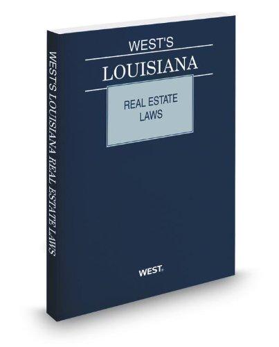 9780314948304: West's Louisiana Real Estate Laws, 2013 ed.