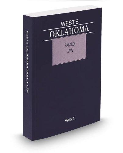 9780314949080: West's Oklahoma Family Law, 2013 ed.
