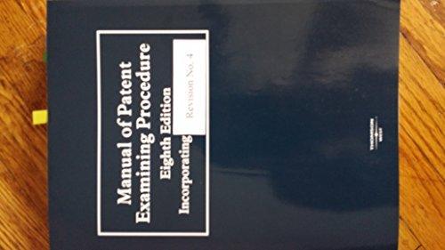 9780314958778: Manual of Patent Examining Procedure, 9th