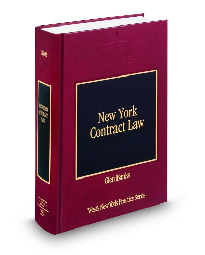 9780314959980: New York Contract Law (Vol. 28, New York Practice Series)