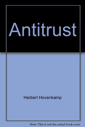 9780314969934: Antitrust (American Casebooks)