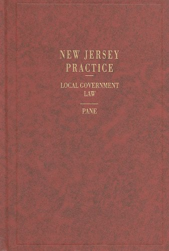 9780314978448: Local Government Law (New Jersey Practice)