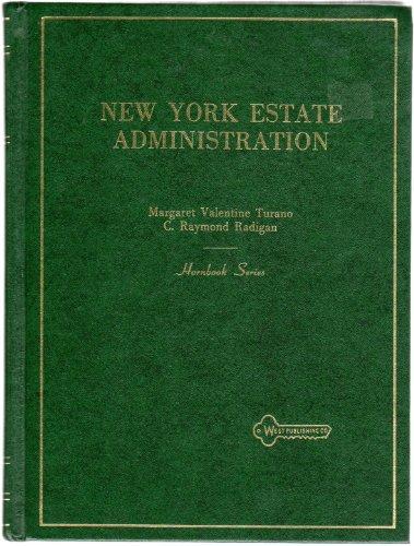 9780314986757: New York Estate Administration (Hornbook Series)