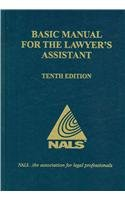 9780314993625: Basic Manual for the Lawyer's Assistant