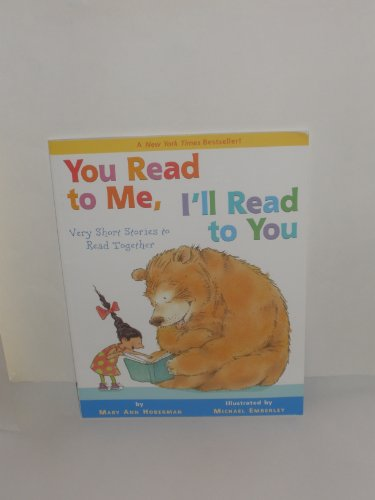9780316013468: You Read to Me, I'll Read to You Very Short Stories to Read Together by Hober...