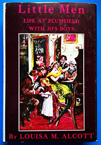Little men : life at Plumfield with Jo's boys; by Louisa M. Alcott ; with illustrations in ...
