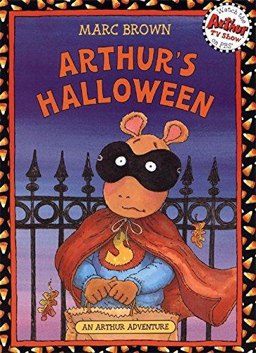 9780316036641: Arthur's Halloween: Book & CD (Arthur Adventures)