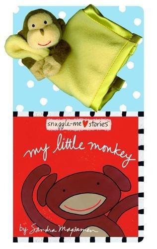 My Little Monkey (Board Books with Plush: Magsamen, Sandra
