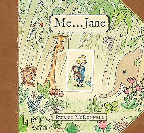 ME . . . JANE, A STORY: McDONNELL, PATRICK (SIGNED)