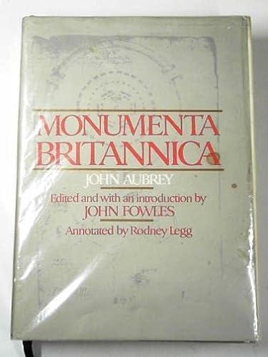 Monumenta Britannica: John Aubrey