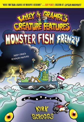 9780316059442: Monster Fish Frenzy (Wiley and Grampa's Creature Features, No. 3)