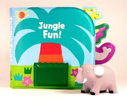 9780316065269: Jungle Fun!: Bath Book & Squirting Tub Toy (Little Squirts)