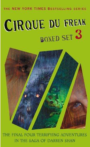 9780316066976: Cirque Du Freak boxed set #3