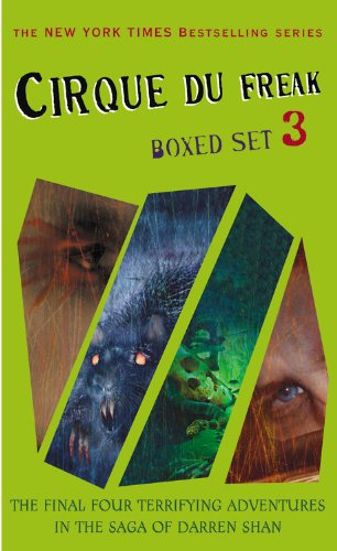 9780316066976: Cirque Du Freak Box 3 Set (Books 9-12)