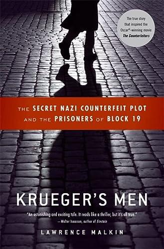 9780316067508: Krueger's Men: The Secret Nazi Counterfeit Plot and the Prisoners of Block 19