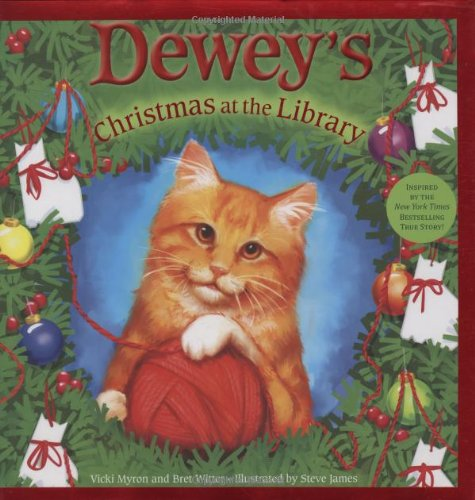 9780316068727: Dewey's Christmas at the Library