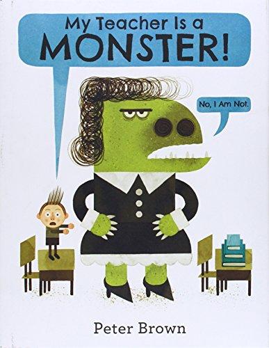 9780316070294: My Teacher Is a Monster!: No, I Am Not.