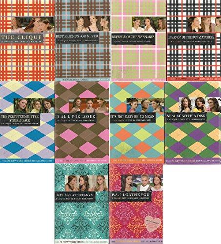The Clique: Complete Set of 10 (clique): lisi harrison