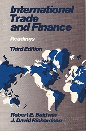 9780316079273: International trade and finance