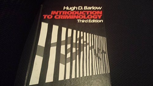 9780316081177: Introduction to criminology