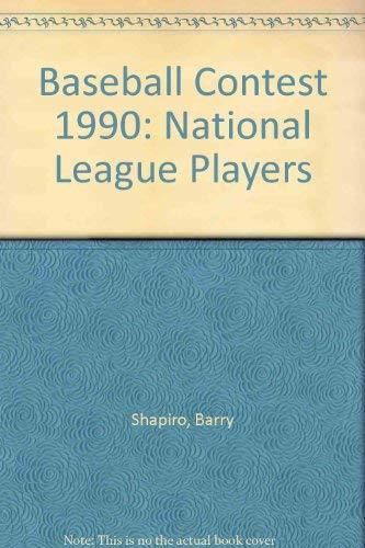9780316083102: Baseball Contest 1990: National League Players