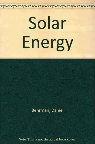 9780316087728: Solar Energy