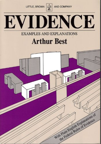 9780316092852: Evidence Examples and Explanations