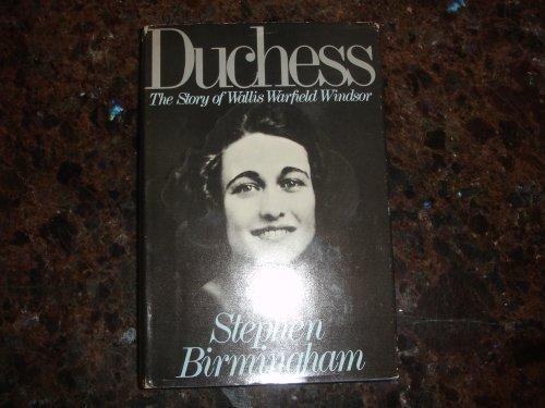 9780316096430: Duchess: The Story of Wallis Warfield Windsor