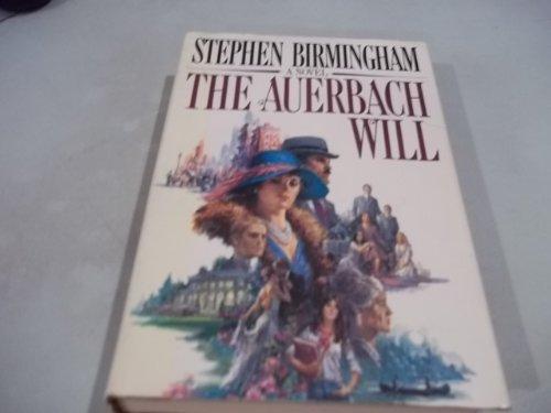 The Auerbach Will: Birmingham, Stephen