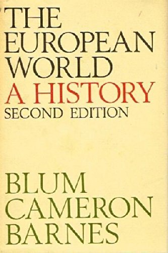 9780316100274: European World a History