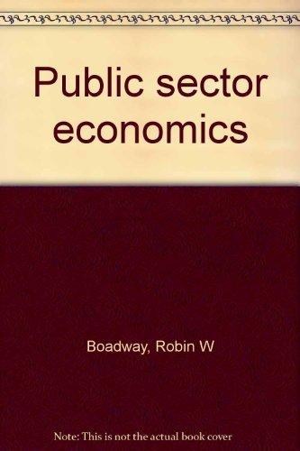 9780316100502: Public sector economics
