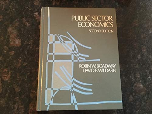 9780316100526: Public sector economics
